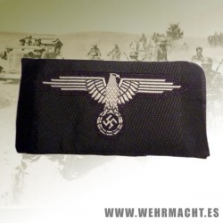 SS enlisted mans silk woven arm eagle