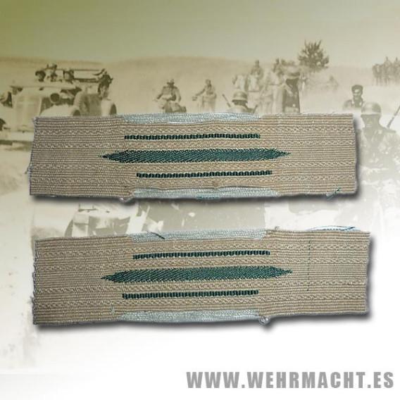 Parches de cuello tropa Wehrmacht