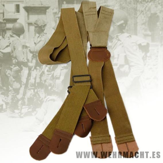 US Army M-1942 Trouser Suspenders