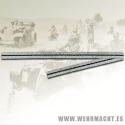 Cinta aluminio de 4mm para parches de cuello SS