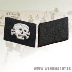 Totenkopf Schutze rune collar patches