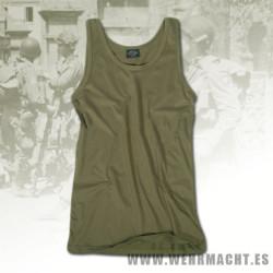 Camiseta de tirantes U.S. verde