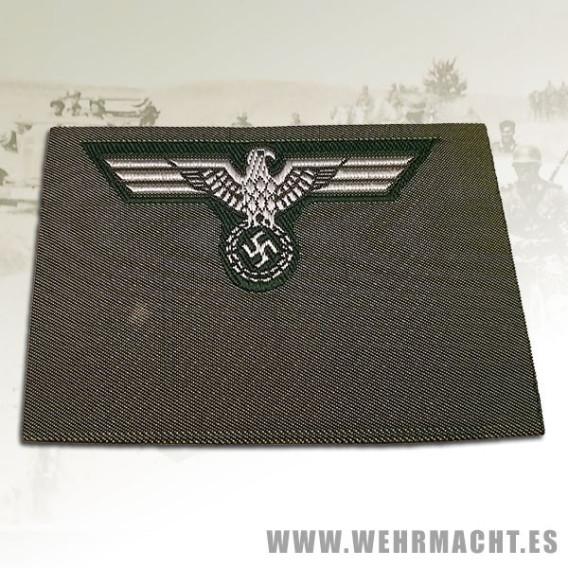 Army Officer silk woven cap eagle