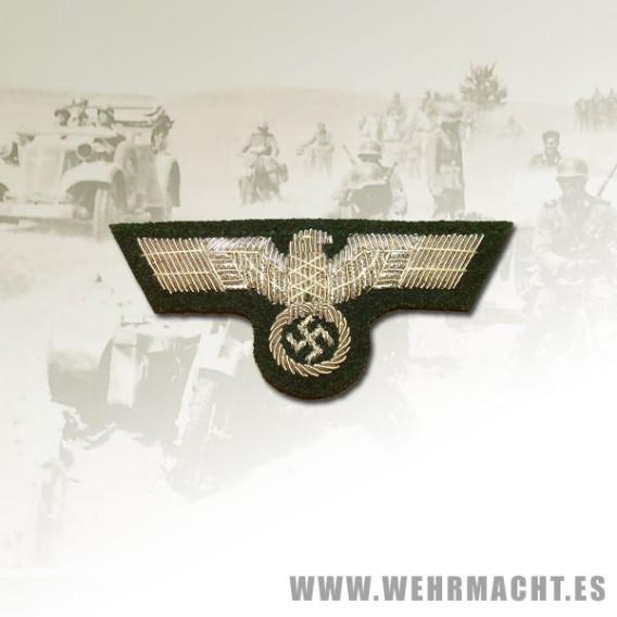 Águila de gorra para oficiales