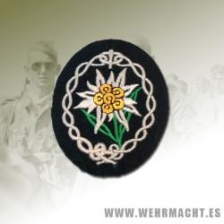 Parche de brazo tropas de montaña Wehrmacht