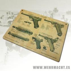 Guía de uso Luger P08