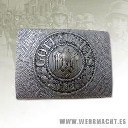Hebilla Wehrmacht - Aluminio