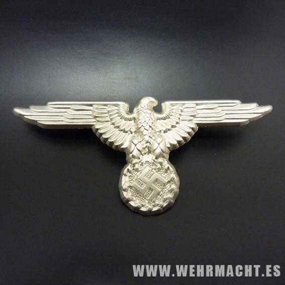 Aguila SS en metal para gorra de plato