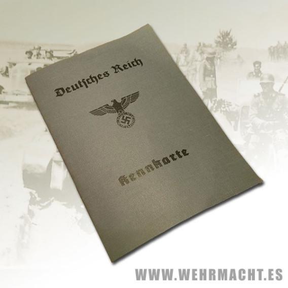 Tarjeta de identidad de la Wehrmacht
