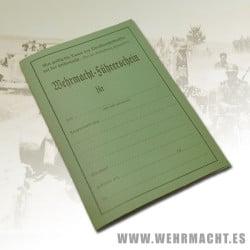Permiso de conducir Wehrmacht (Führerschein)