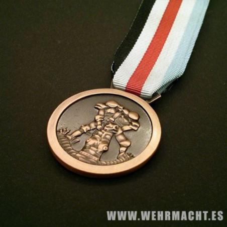 Medalla Italo-germana del Áfrika Korps