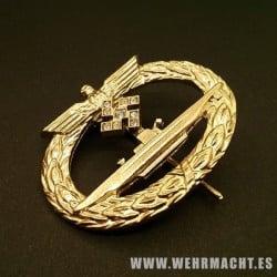 Distintivo de Submarinos en oro y diamantes