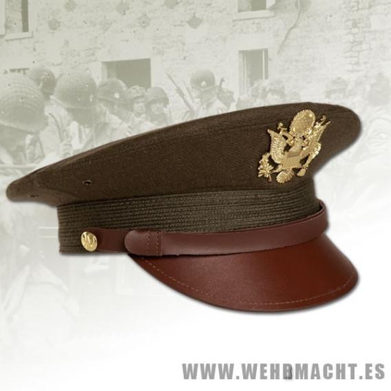 U.S. Officer's Visor cap, Khaki