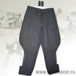 Pantalones de montar para Oficiales (Lana)
