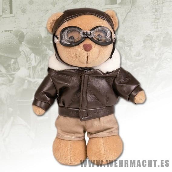 Peluche piloto de aviación