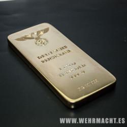 "Lingote ""Deutsche Reichbank"" + Caja"