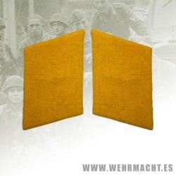 Fallschirmjäger enlisted man's collar patches