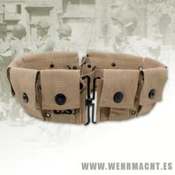 Cinturón cargadores Garand M1