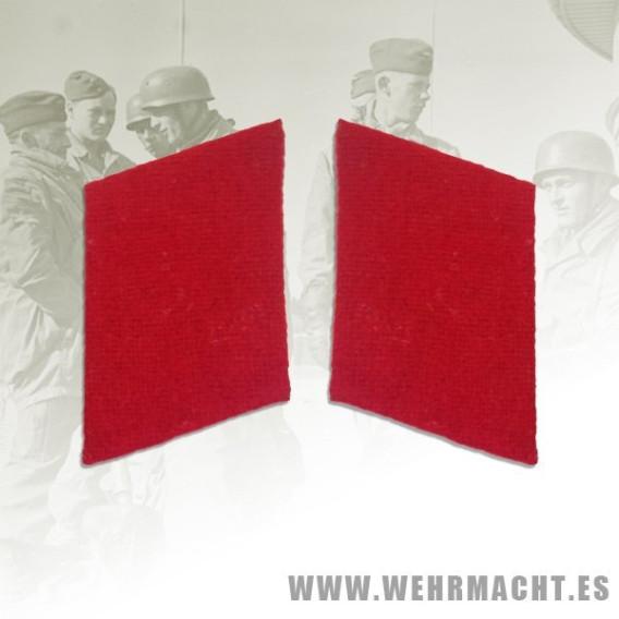 Parches de cuello Luftwaffe Artillería