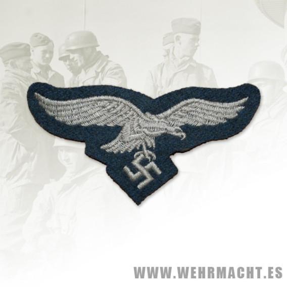 Luftwaffe enlisted mans cloth embroidered breast eagle