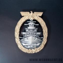 Distintivo de combate en alta mar