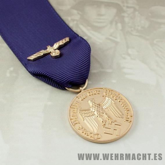 Medalla 12 años de servicio Wehrmacht