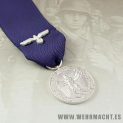 Medalla 4 años de servicio Wehrmacht