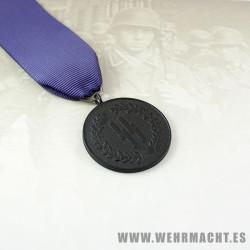 Medalla 4 años de servicio Waffen SS