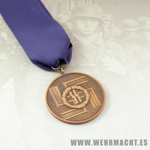 Medalla 8 años de servicio Waffen SS