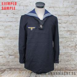Kriegsmarine dark blue shirt (Surplus)