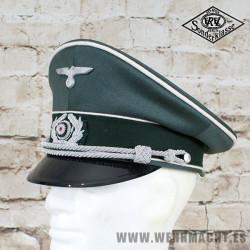 Gorra de plato Wehrmacht para Oficial de Infanteria - EREL®