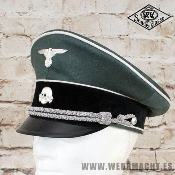 Waffen-SS Officers Visor Cap - EREL®