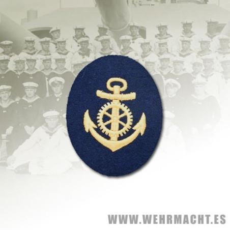 Distintivo Kriegsmarine, Sargento Maquinas (Lana)