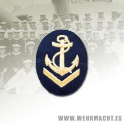 Distintivo Kriegsmarine, Sargento 1º Contramaestre (Algodón)