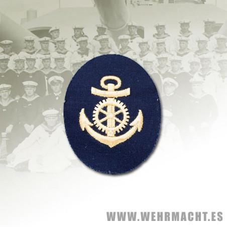 Distintivo Kriegsmarine, Sargento Maquinas (Algodón)