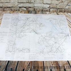 Defences Map, Carentan (Edition of June 1943)