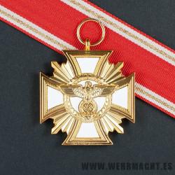 Medalla de servicio en el NSDAP (25 años)