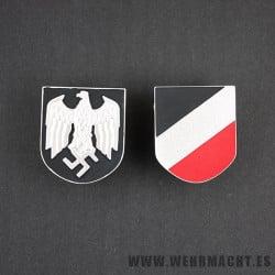 Afrikakorps Salakot, badges