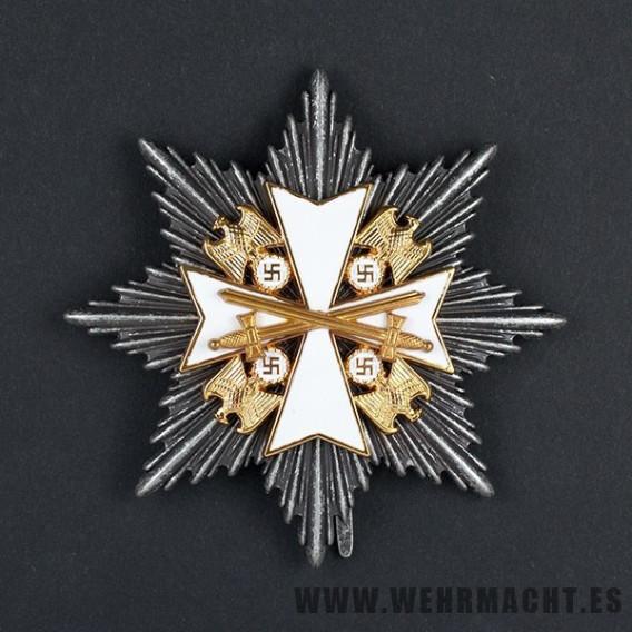 Gran cruz de la orden del Águila Alemana, militar
