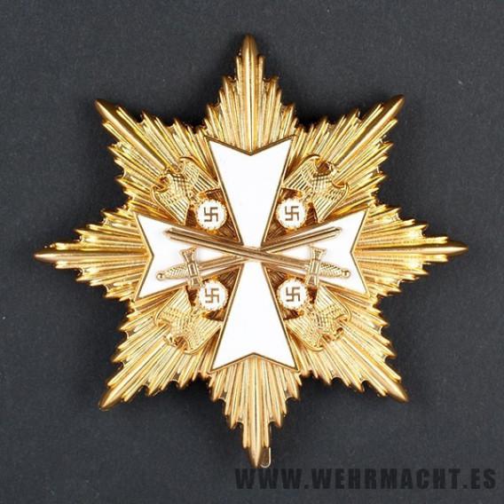 Gran cruz dorada de la orden del Águila Alemana, Militar