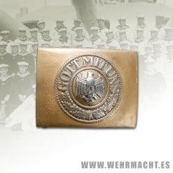 Hebilla Kriegsmarine - Aluminio