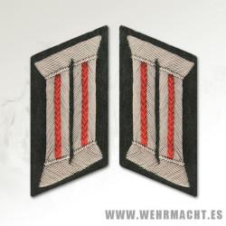 Parches de cuello Oficial Artillería Wehrmacht
