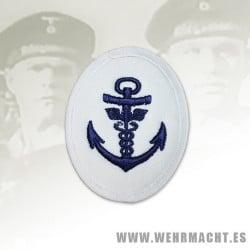 Distintivo Kriegsmarine, Sargento Administrativo (Algodón Blanco)