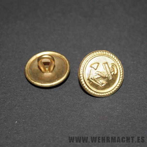 Botones Dorados de la Kriegsmarine, 16mm