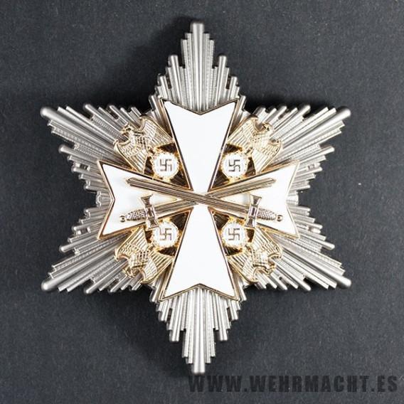 Orden del Águila Alemana, 2ª Clase con espadas