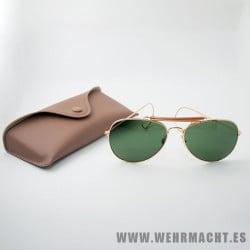 Gafas de sol estilo 'Aviator' (Verdes)
