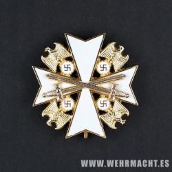 Orden del Águila Alemana, 4ª Clase con espadas