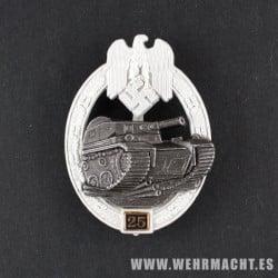 Asalto de blindados Panzer, 25 acciones
