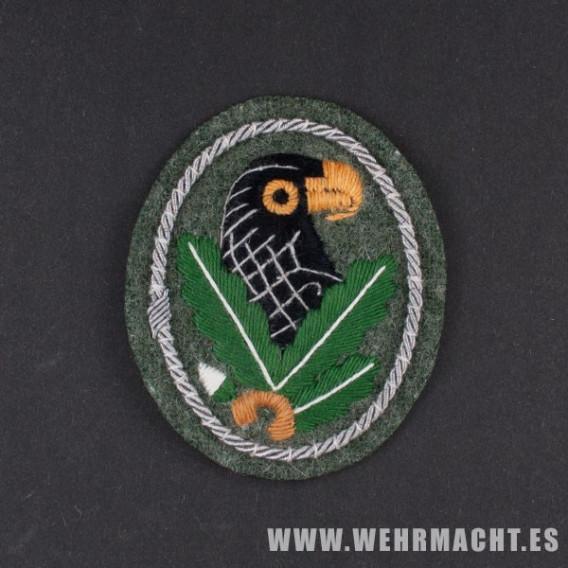 Insignia Francotirador, Cordón Plateado