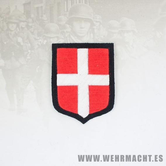 Escudo de manga de las Waffen SS, Dinamarca